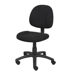 Boss Office Products B315-BK Perfect Posture