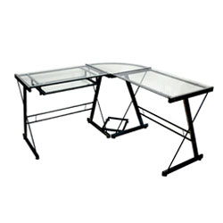 Walker Edison 3-Piece Contemporary Desk