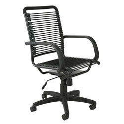 Eurø Style Bungie High Back Adjustable Office Chair