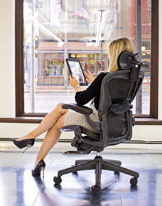 herman miller aeron fully loaded office chair with headrest review