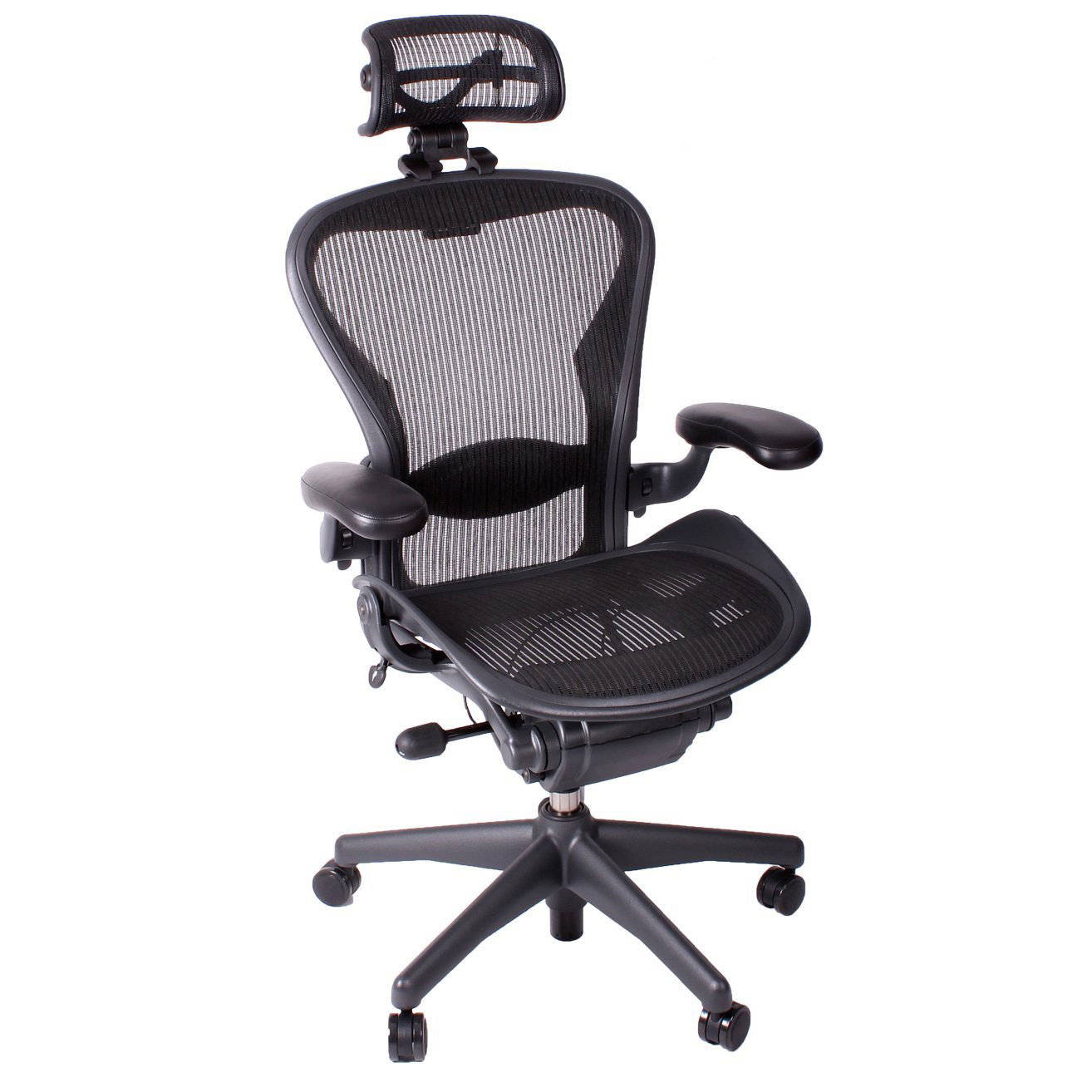 herman miller aeron fully loaded office chair with. Black Bedroom Furniture Sets. Home Design Ideas