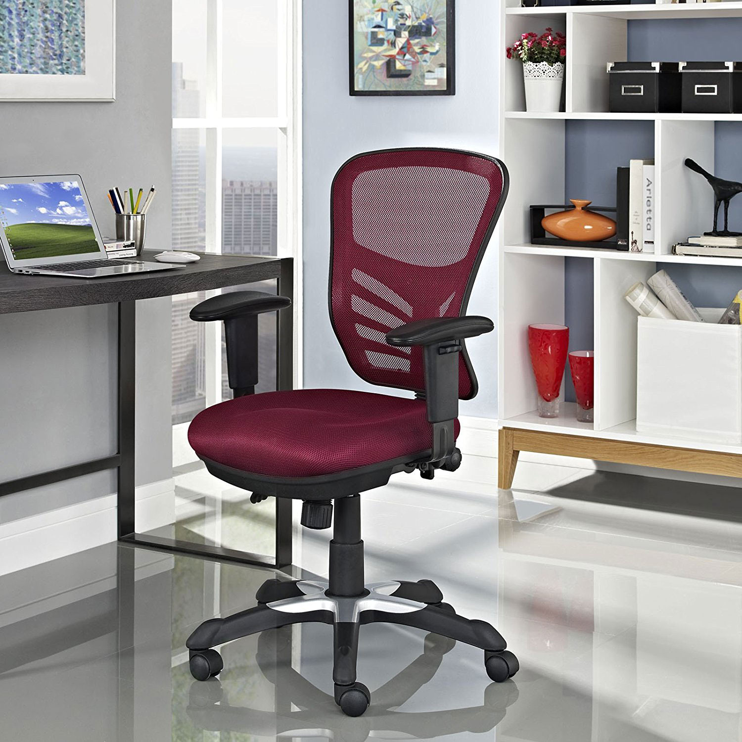 Modway Articulate fice Chair Review Breathable Mesh Back