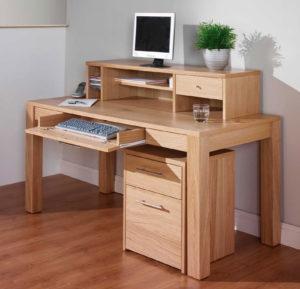wood office desks