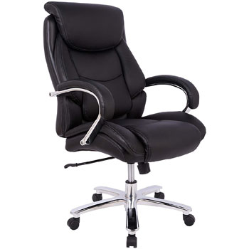 Amazon Basics Big Tall Executive Office Desk Chair Adjustable with Armrest