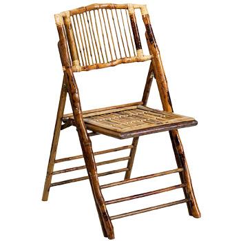 Flash Furniture Bamboo Folding Chair