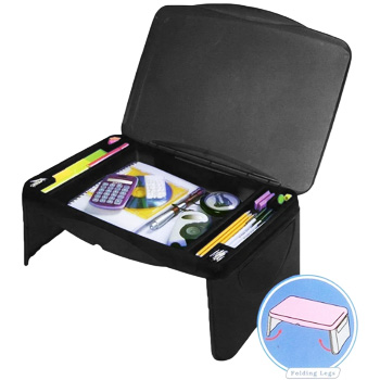 MavoCraft Folding Laptop Desk with Extra Storage Space