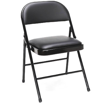 OFM Essentials Collection Multipurpose Padded Metal Folding Chair