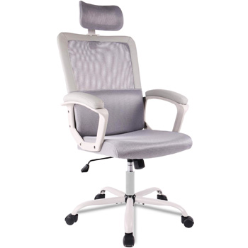 Smugdesk Ergonomic Mesh Office Chair Gray