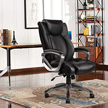 REFICCER Bonded Leather Office Chair Review